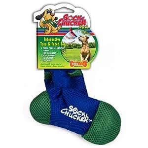 sock chew toys pet supplies pet chew toys penn plax sock chucker