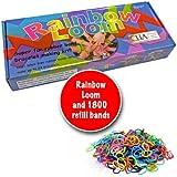 Twistz Bandz Rainbow Loom, silicone, bracelets, rainbow, looms kit with 1800 band refill
