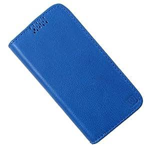 Dooda Genuine Leather Flip Case For Nokia Asha 310 (BLUE)