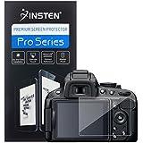 Insten® Reusable Screen Protector Compatible with Nikon D5100