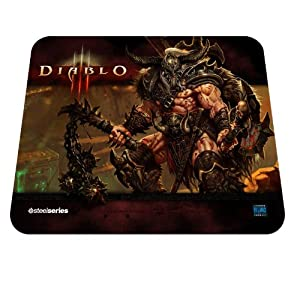 steelseries - Diablo III Barbarian Édition - Tapis de Souris - Noir