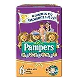 ( 2498 ) FATER PAMPERS PROGRESSI PLAYTIM XL18
