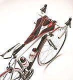 Acquista Elite, Protezione antisudore per bici - fissaggio tra sedile e manubrio, Rosso (ROT/SCHWAR), Taglia unica
