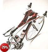 Elite, Protezione antisudore per bici - fissaggio tra sedile e manubrio, Rosso (ROT/SCHWAR), Taglia unica