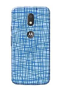 Moto E3 Power Case KanvasCases Premium Designer 3D Printed Lightweight Hard Back Cover