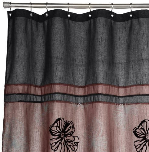 Popular Bath Tonya Shower Curtain Mauve