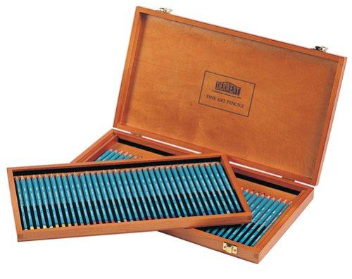 Derwent Watercolour Pencil Wooden Box (72)