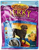 Zukes Jerky Naturals Dog Treats, Tender Beef Recipe, 6-Ounce