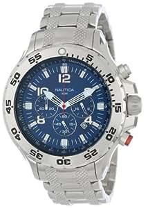 Nautica Men's N19509G NST Stainless Steel Watch