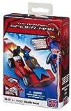 Mega Bloks 91323 Spiderman Stealth Racer & Key Launcher 47pc Buildable Playset