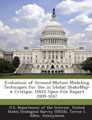 Evaluation of Ground-Motion Modeling Techniques for Use in Global ShakeMap-A Critique: USGS Open-File Report 2009-1047
