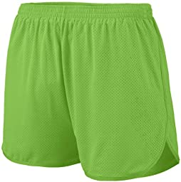 Augusta Sportswear Big Boy\'s Covered Elastic Waistband Short, Lime, Small
