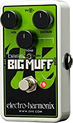 Electro Harmonix Nano Bass Big Muff Pi Effects Pedal by Electro Harmonix