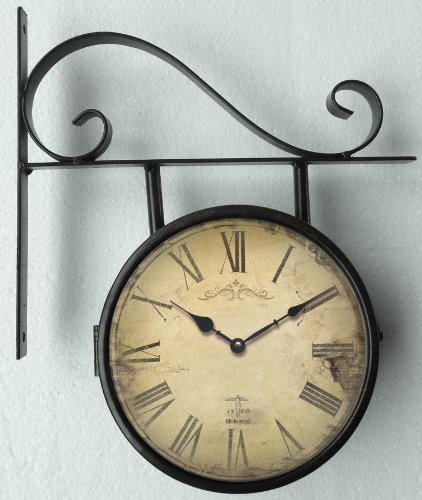 Interni casa orologio da parete orologio della stazione for Orologi a parete da cucina