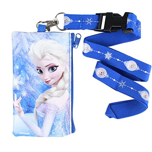 Officially Licensed Disney Frozen Zipper Pouch