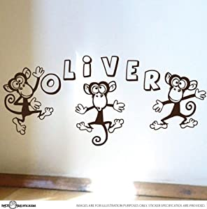 Coupon For Cheeky Monkey Custom Children Name Nursery Vinyl Wall - Custom vinyl wall decals groupon