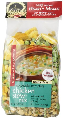 Frontier Soups Hearty Meal Soups Colorado Campfire Chicken Stew Mix, 7 Ounce (Dehydrated Vegetable Mix compare prices)
