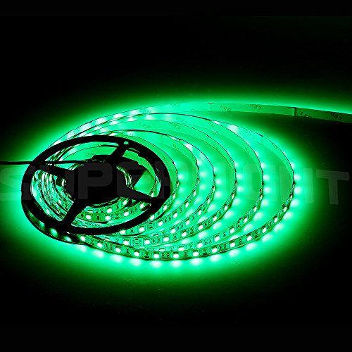 SUPERNIGHT® 16.4FT 5M SMD 5050 Green IP68 LED
