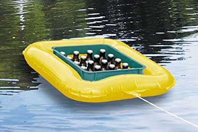 Getränkekasten-Schwimmreif - aufblasbarer Bierkühler