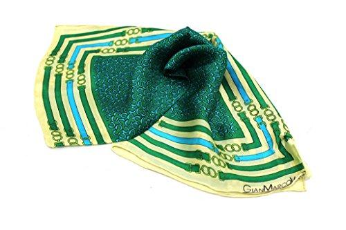 Foulard Donna Gian Marco Venturi L.Seta 65002 Verde