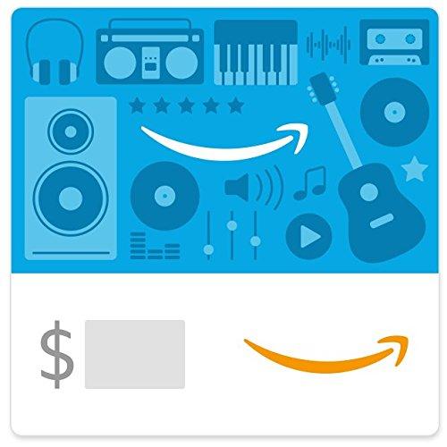 Amazon eGift Card - Music Icons (Amazon Music Card compare prices)