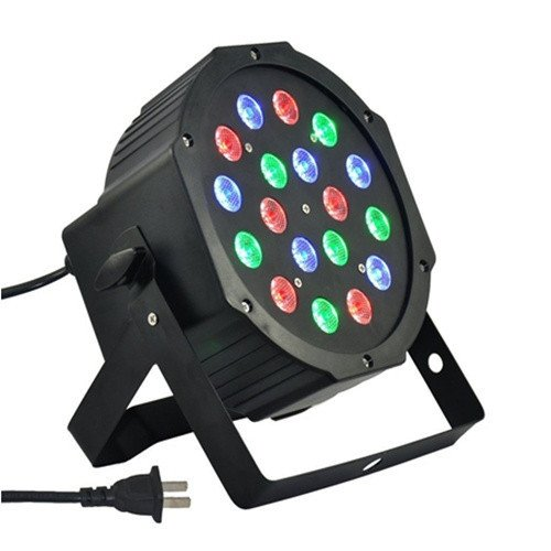 Hkbayi High Quality 18*3W Rgb Led Flat Par Led Par Light With Dmx512 Professional Stage Light