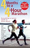 img - for Four Months to a Four-hour Marathon,Updated by Kuehls, Dave (2006) Paperback book / textbook / text book
