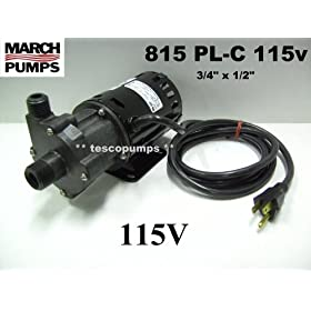 March High Temperature Pump for Brewing Home Brew