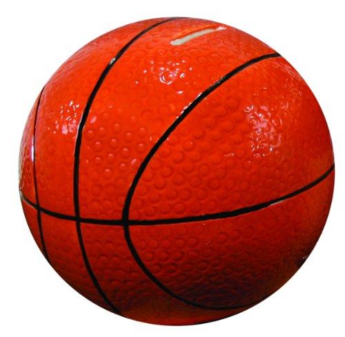 Stephan Baby Sports Fun Ceramic Basketball Bank, 5