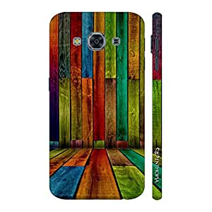 Enthopia Designer Hardshell Case Striper Wall Back Cover for Samsung Galaxy J3 Pro