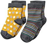 PACT Baby-Boys Newborn Pioneer Two-Pack Socks