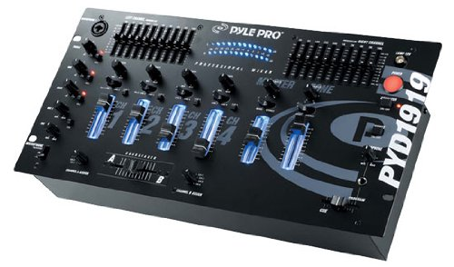 Pyle-Pro PYD1919 4 Channel Professional Mixer
