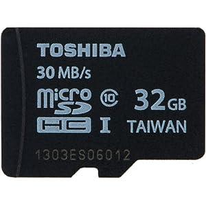 microSDHC 32GB Toshiba 東芝 UHS-I 超高速Class10 バルク品 (1ヶ月間保証)