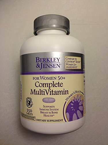 Berkley Jensen Complete Multivitamin For Women 50+