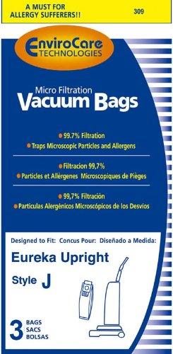 Paper Bag, Style J Micro-Filtration Env 3Pk