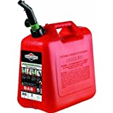Briggs &amp; Stratton 85053 5-Gallon Gas Can Auto Shut-Off (CARB Compliant)