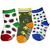 C2BB 3 pairs of boys anti slip baby socks children from 1 to 3 years old item 4