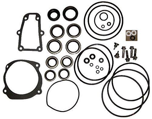 Complete Lower Unit Seal Kit for Johnson Evinrude V4, V6, V8 replaces 5006373 5000411 primary