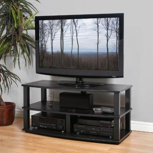 Cheap Plateau Black Oak XT Series TV Stand (XT-V3 (44) (B)-B)