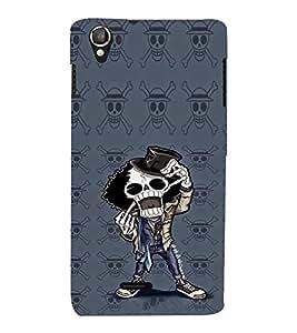 EPICCASE Freeky Skeleton Mobile Back Case Cover For Lava Iris X800 / Lava Iris X800 (Designer Case)