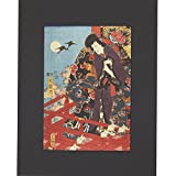Theatrical Scene by Utagawa Kunisada l (Mounted Print)||EVAEX