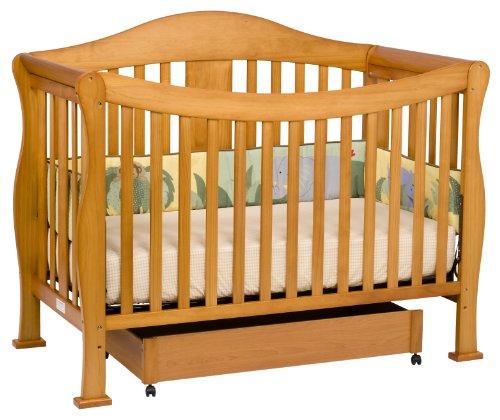 DaVinci Parker 4 in 1 Crib with Toddler Rail, Oak