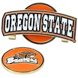 Oregon State Beavers Slider Hat Clip W/ Golf Ball Marker - NCAA College Athletics