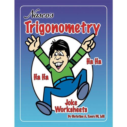 nasco tb24448t trigonometry joke worksheets 48 page book grades 9 media books non fiction. Black Bedroom Furniture Sets. Home Design Ideas