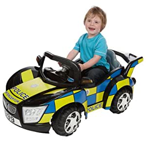 Kids@play Ride-In Police Car: Amazon.co.uk: Toys & Games