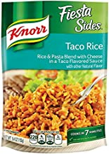 Knorr Fiesta Sides Taco Rice Pack of 2 54 oz Bags