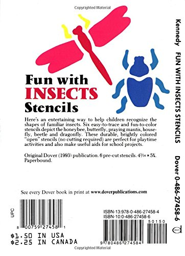 Fun with Insects Stencils (Dover Stencils)