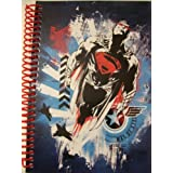 """DC Comics Superman Man Of Steel Spiral Notebook ~ Hero In Flight (5"""" X 7""""; 100 Sheets, 200 Pages)"""