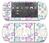 Sony PSP Slim 3000 Decal Skin - Flowers in the Air