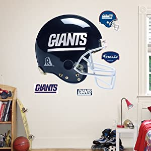 NFL New York Giants Throwback Helmet Wall Graphics by Fathead